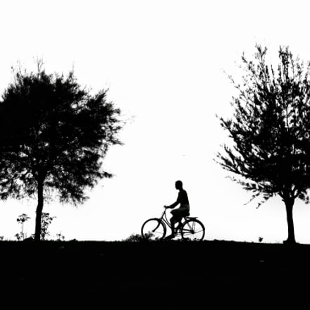 Lonely ride, Canon POWERSHOT SX170 IS