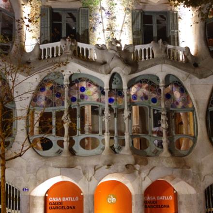 Casa Batlló, Pentax K-5, smc PENTAX-DA 18-55mm F3.5-5.6 AL II