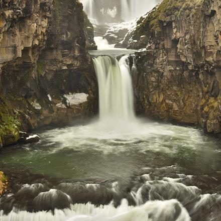 White River Falls, Nikon D3400, AF-S DX Nikkor 35mm f/1.8G