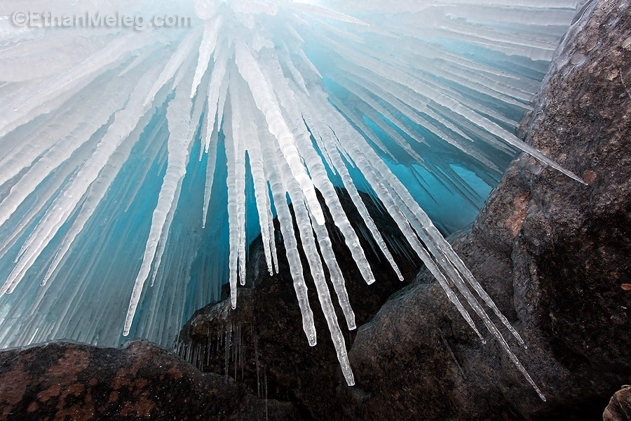Photograph Icicles on Georgian Bay by Ethan  Meleg on 500px