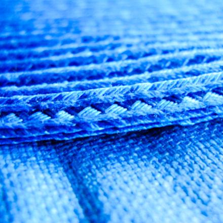 Blue Placemat and Blue, Nikon COOLPIX L24
