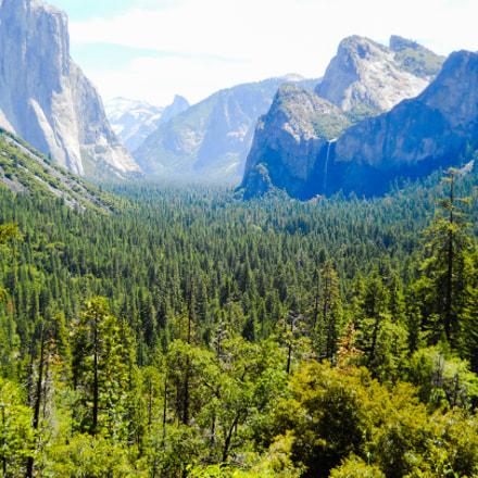 Yosemite National Park, Nikon COOLPIX L24