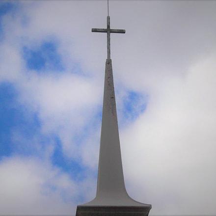 steeple storm, Fujifilm FinePix AV150