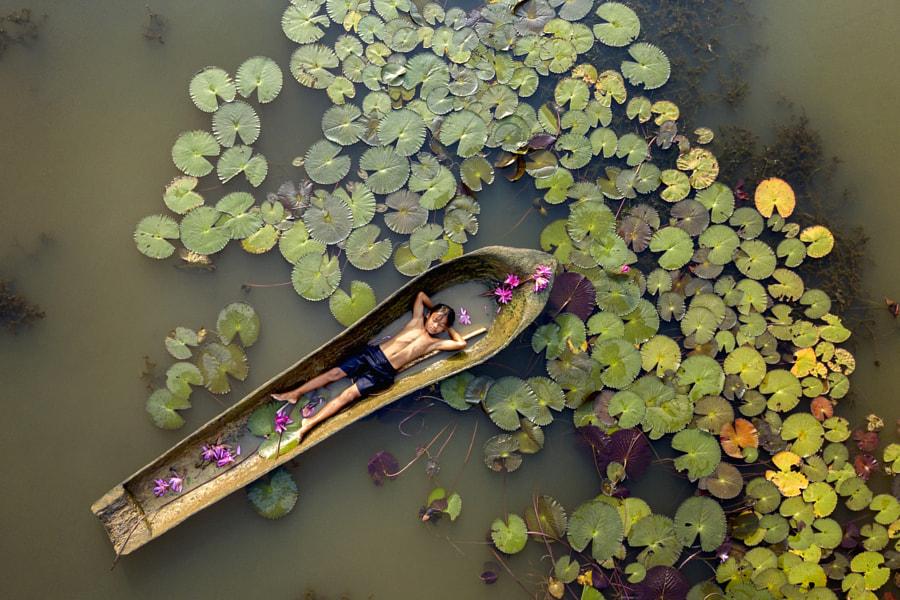 Kampot's Lilies Pond by Thomas Tham on 500px.com