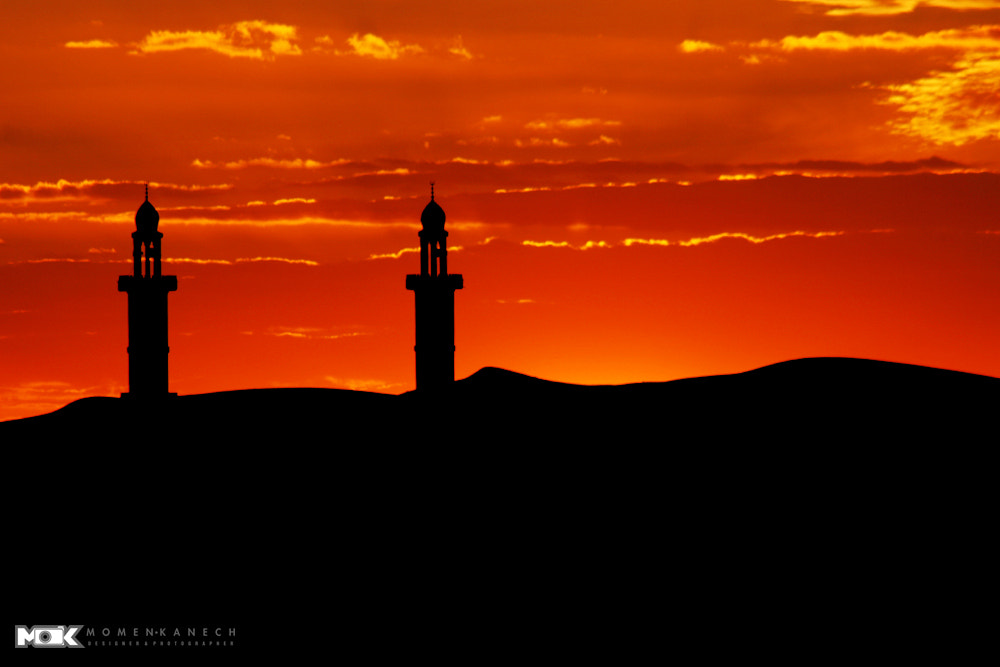 Photograph  Sunset-Mosque-Sands by Momen Kanech on 500px