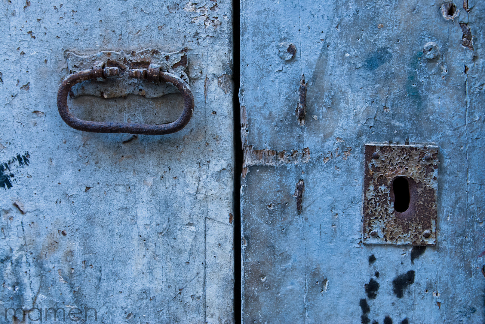 Photograph Old blue. by Carmen Marquez on 500px