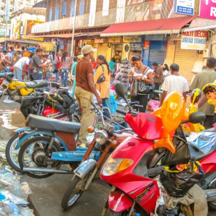 Port Louis Street Market, Canon DIGITAL IXUS 970 IS