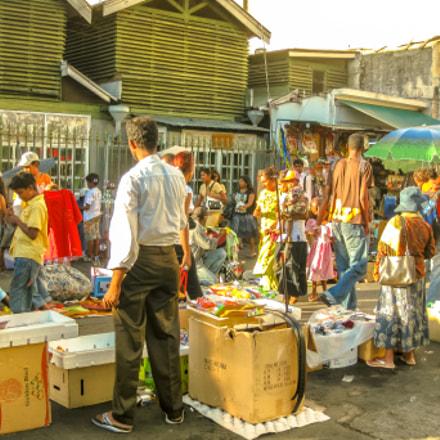 Mauritius Port Louis Market, Canon DIGITAL IXUS 970 IS