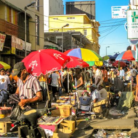 Port Louis Market, Canon DIGITAL IXUS 970 IS