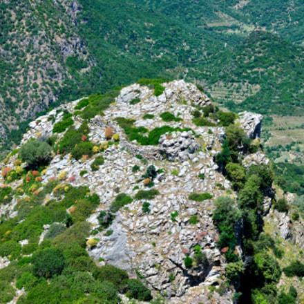 muraglione di Monte Lora, Nikon D3000, AF-S DX VR Zoom-Nikkor 55-200mm f/4-5.6G IF-ED