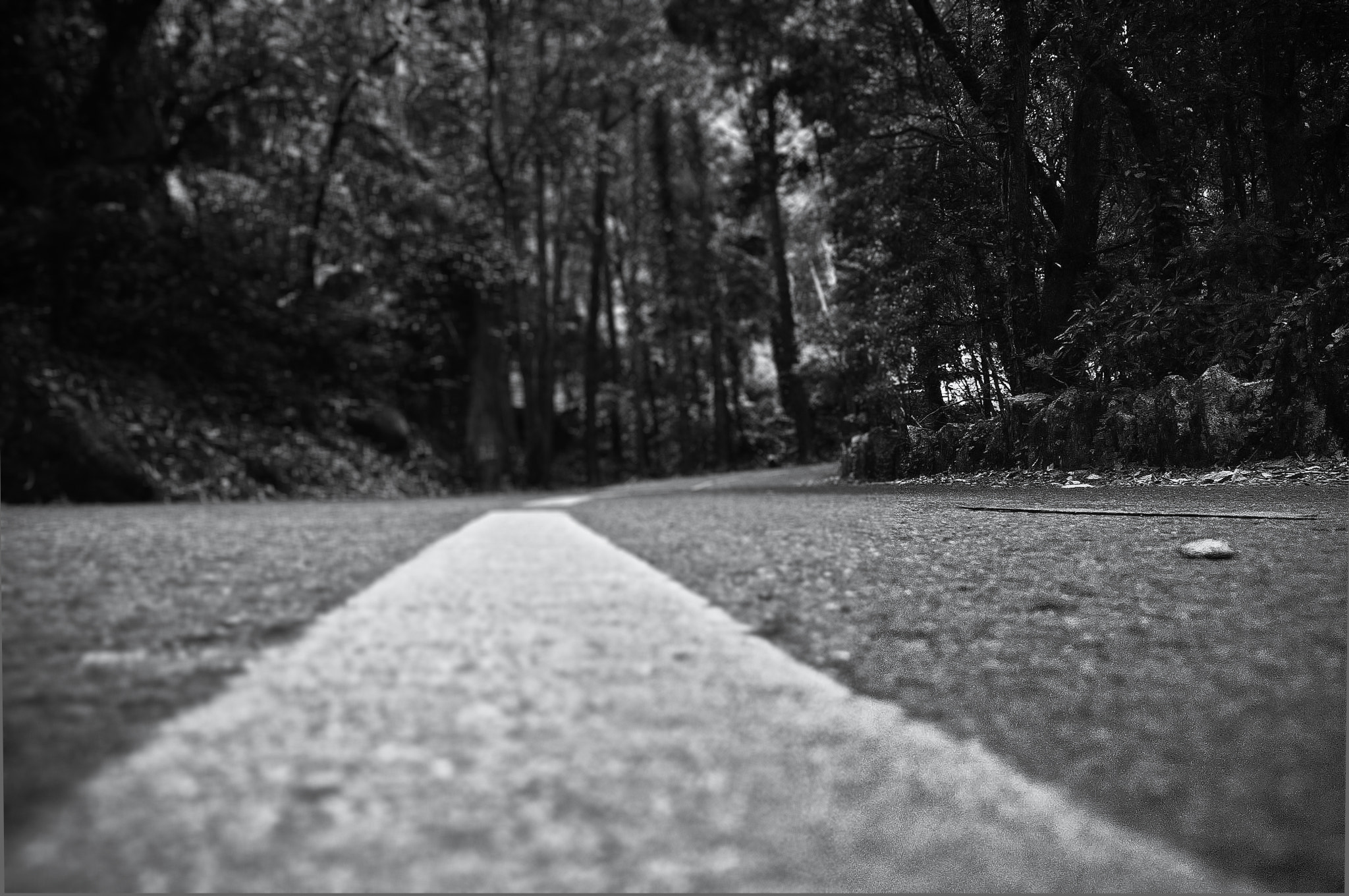 Photograph Road to Dark by Benjamin Biela on 500px