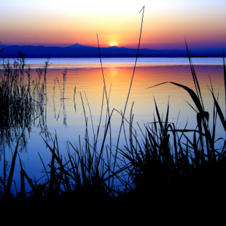 Puesta de sol, Nikon COOLPIX P5000