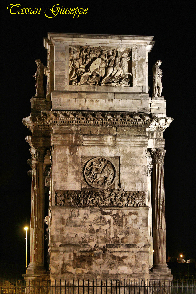 Photograph Arco di Costantino (Roma) by Tassan Giuseppe on 500px