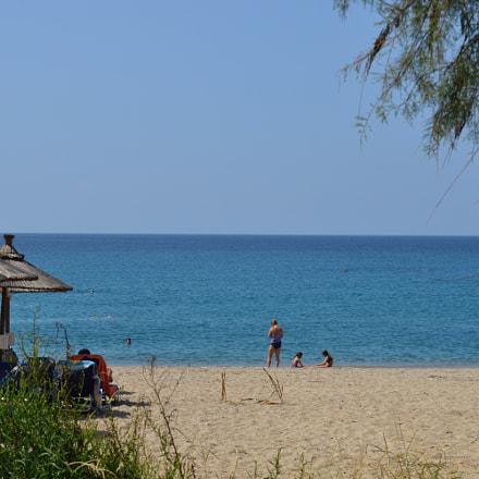 Θαλασσινό κάδρο στην παραλία Μονολιθίου (Δάσος Νικόπολης), Nikon D3200, AF-S DX Nikkor 18-55mm f/3.5-5.6G VR II