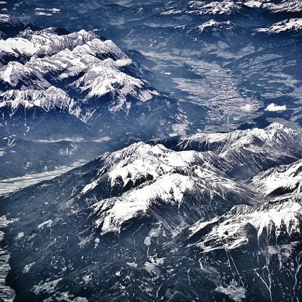 Alpine Mountains, Nikon D610, AF-S Nikkor 24-120mm f/4G ED VR