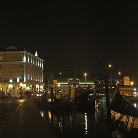 Boats in the Night, Fujifilm FinePix S5500