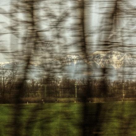 pohled z rychlíku, Canon POWERSHOT A460