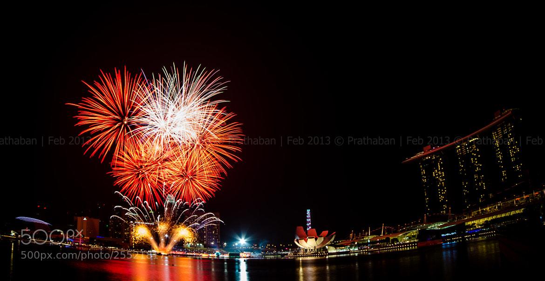Photograph First fireworks of 2013 Lunar New Year by Prathaban Umapathysarma on 500px