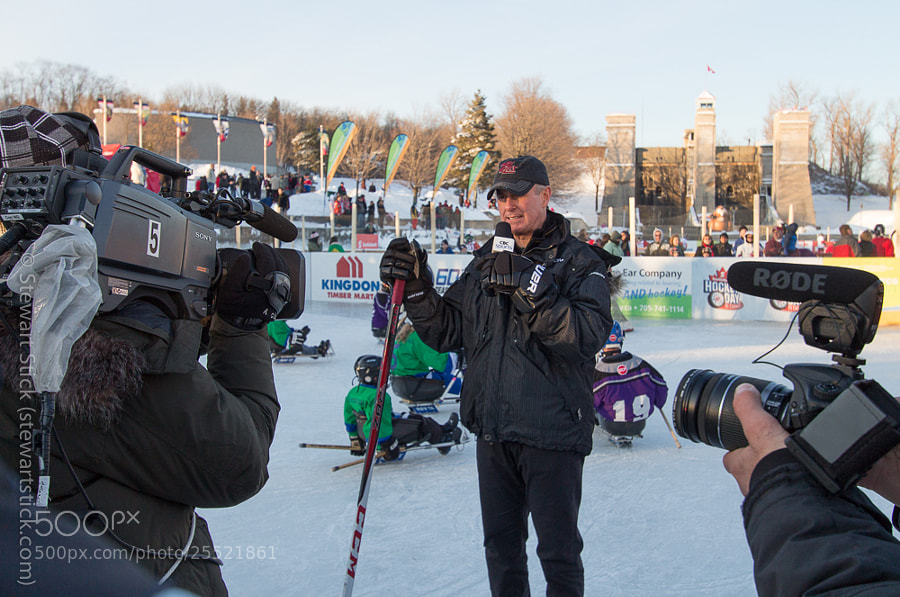 Ron Maclean at the Peterborough Liftlock by Stewart Stick (stickshots)) on 500px.com