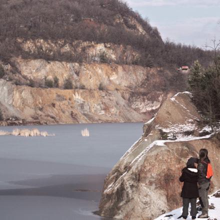 The frozen lake, Canon EOS 1200D