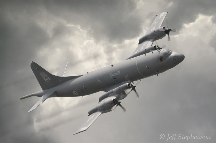 Photograph Lockheed CP-140 Aurora  by Jeff Stephenson on 500px
