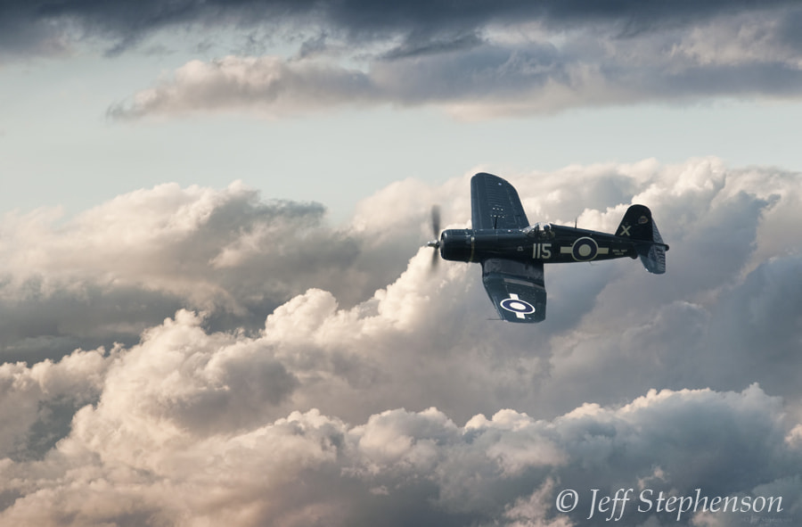 Photograph Robert Hampton Gray Tribute Corsair by Jeff Stephenson on 500px