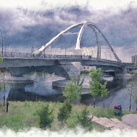 Lowry Ave Bridge NE, Fujifilm FinePix AX655