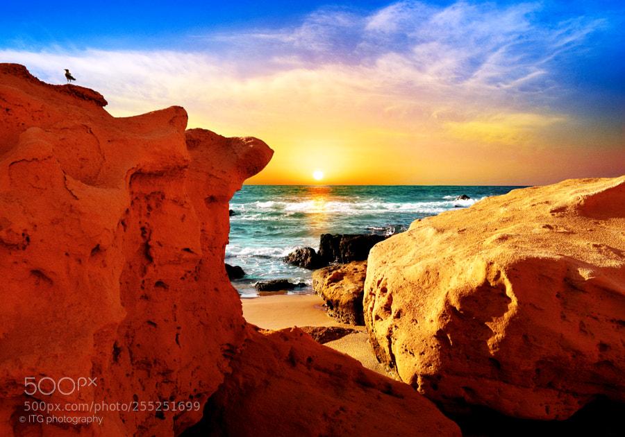 Sunset Between The Rocks (3)