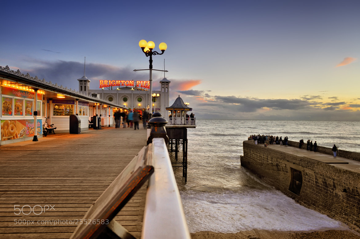 Photograph Brighton Pier by Digital Craft Factory on 500px
