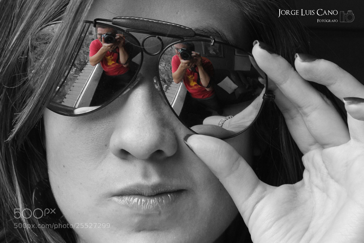Photograph In the glasses by Jorge Cano Méndez on 500px