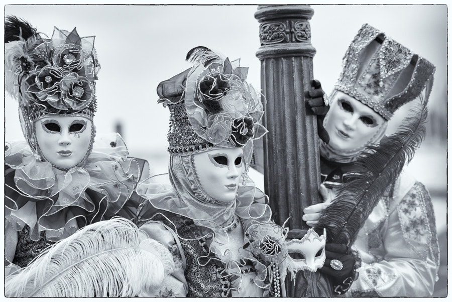 Photograph Mono Carnival Masks by Lisa Osta on 500px