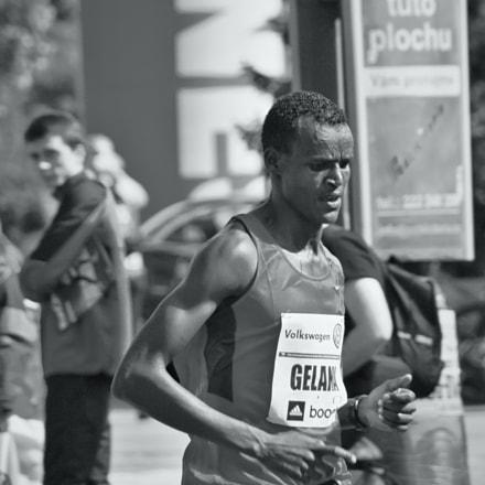 Marathon runner, Canon EOS 60D