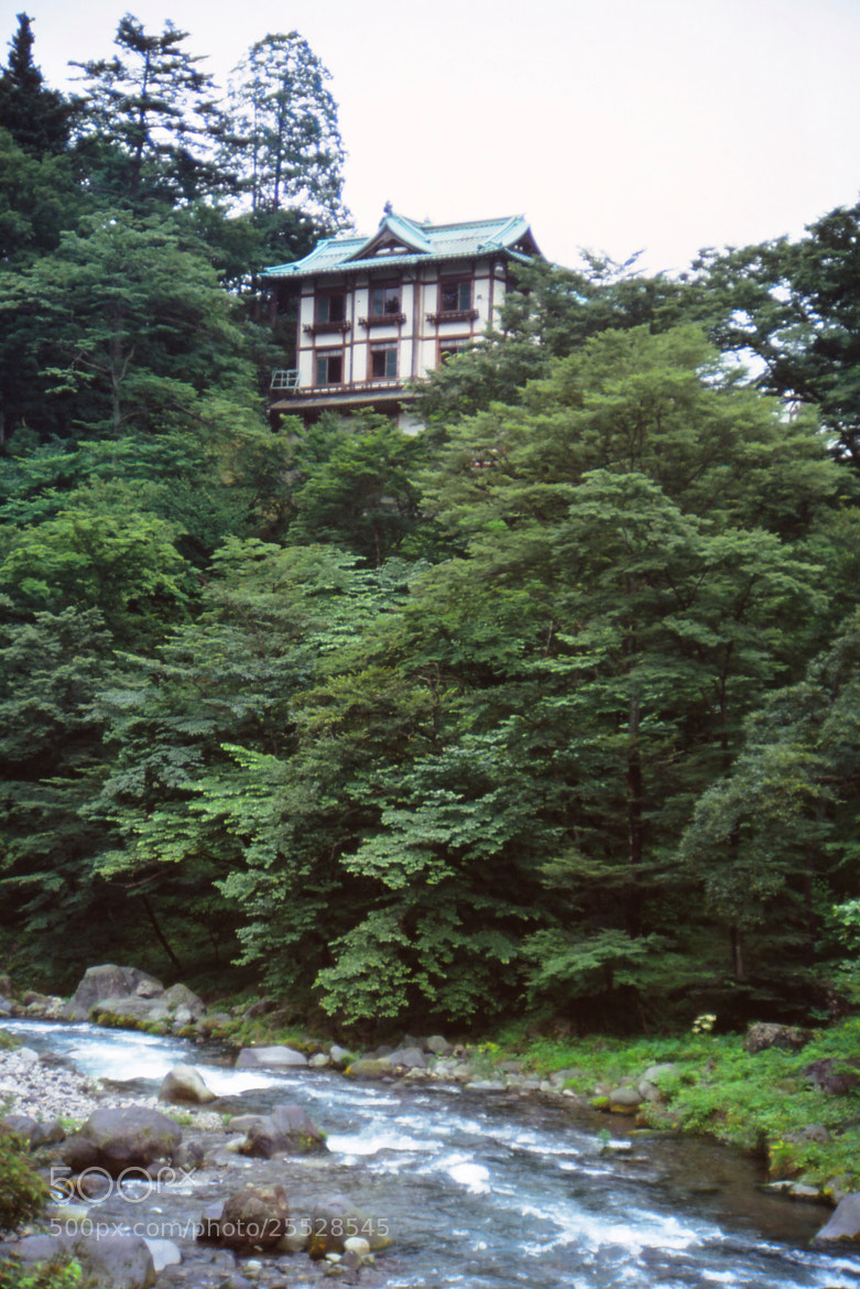 Photograph Mountain Home in Nikko Japan by Michael Card on 500px