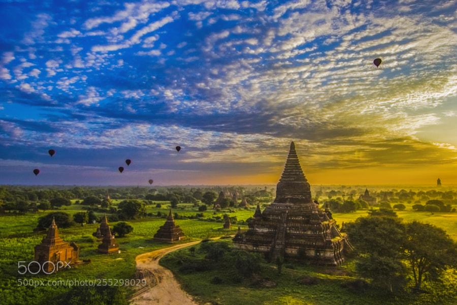 Old Bagan Sunset