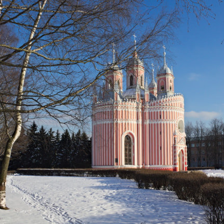Chesmenskaya Church, Canon EOS 650D, Canon EF-S 18-135mm f/3.5-5.6 IS STM