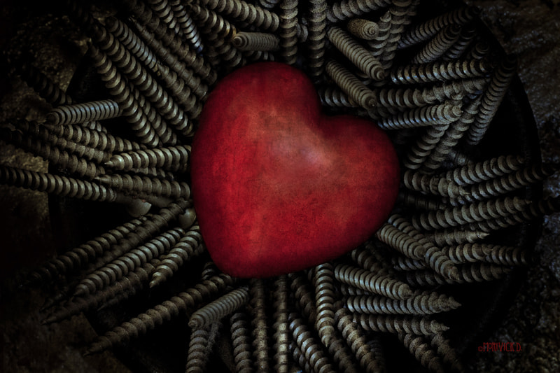 Photograph Hot Hearts & Hard Screws by Marivick D on 500px