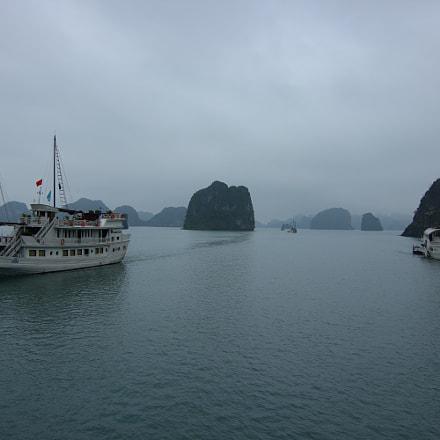 Ha Long Bay navigation, Canon EOS 550D, Tokina AT-X 116 AF Pro DX 11-16mm f/2.8