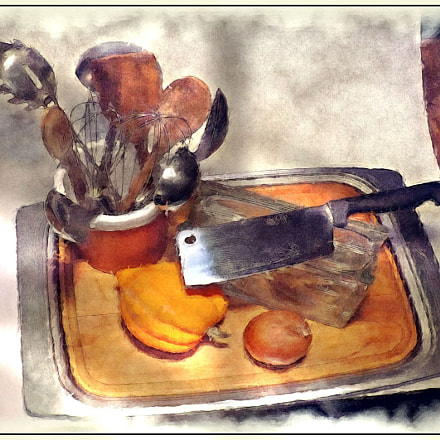 Kitchen Still Life, Fujifilm FinePix S4250WM