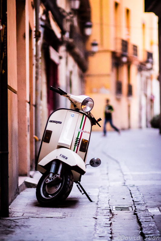 Photograph Memories of a Vespa by David Juan on 500px