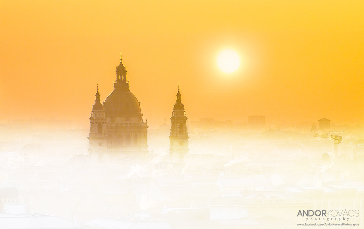 Photograph Giant morning fog around the Basilica, Budapest by andorkovacsphotography on 500px