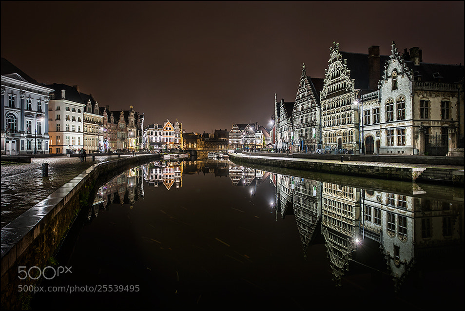 Photograph Reflections in the Leie by Sus Bogaerts on 500px