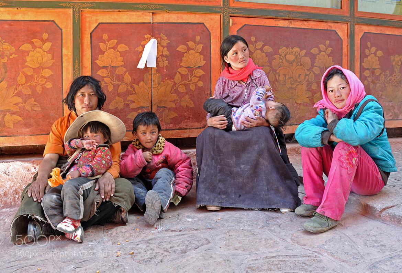 Photograph Tibetian Family by Csilla Zelko on 500px