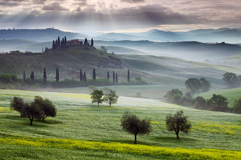 Photograph Val d`Orcia by Martin Rak on 500px