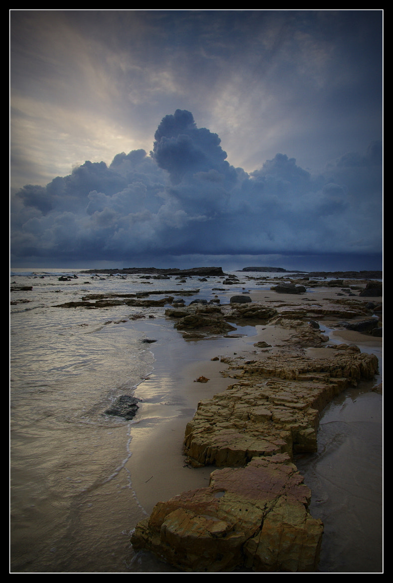 Photograph Wet sunrise at Swansea Heads by Alan Daniel on 500px
