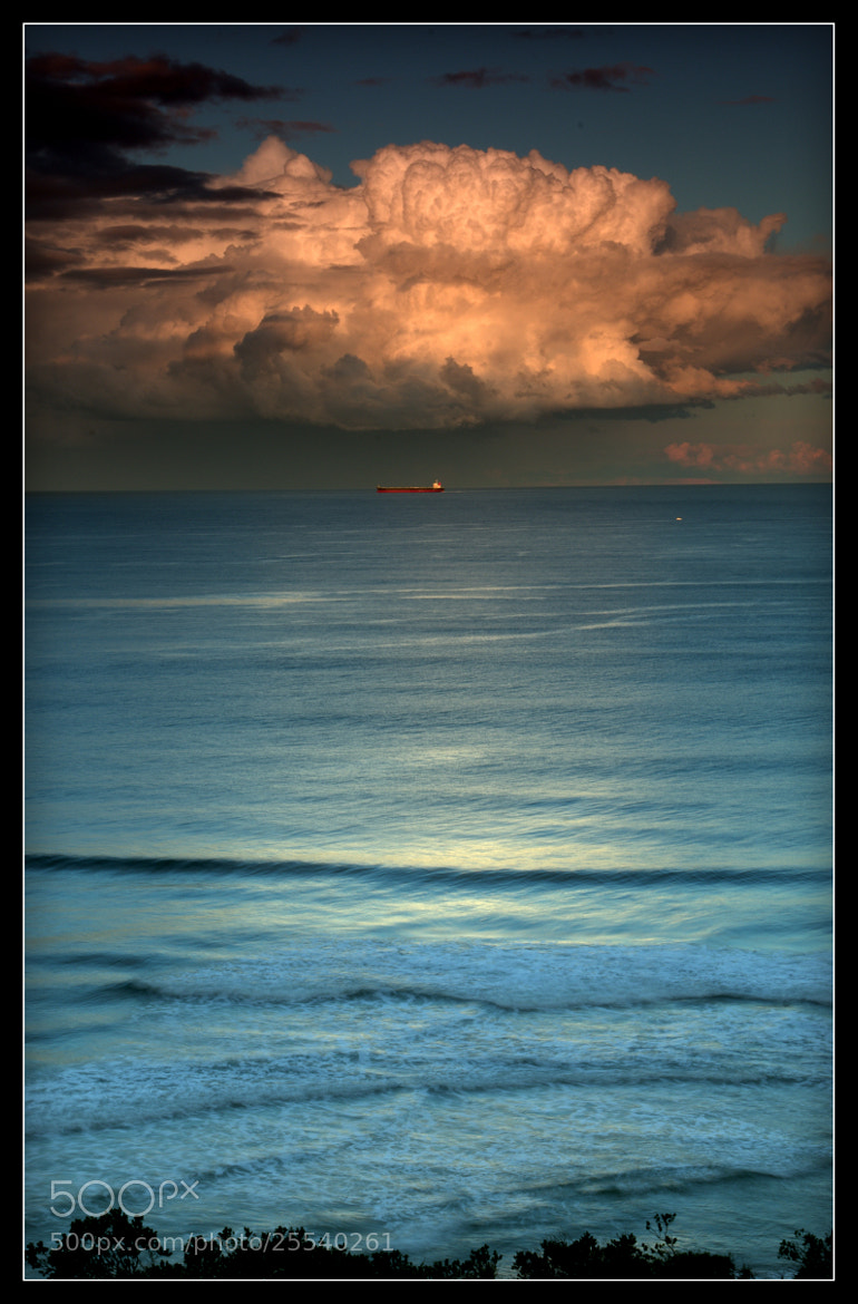 Photograph Cool days, warm currents, big clouds by Alan Daniel on 500px
