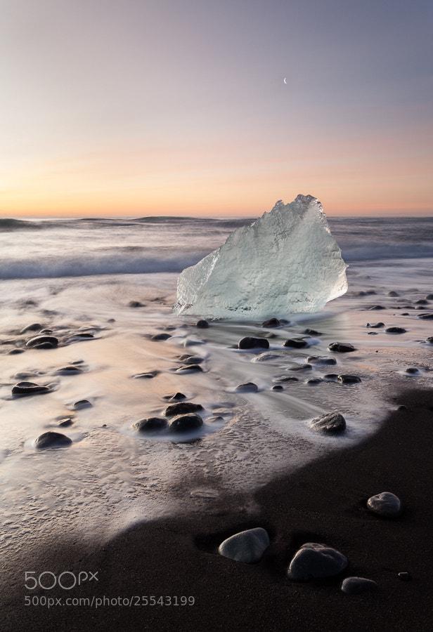 Photograph Jökulsárlón beach by John Q on 500px