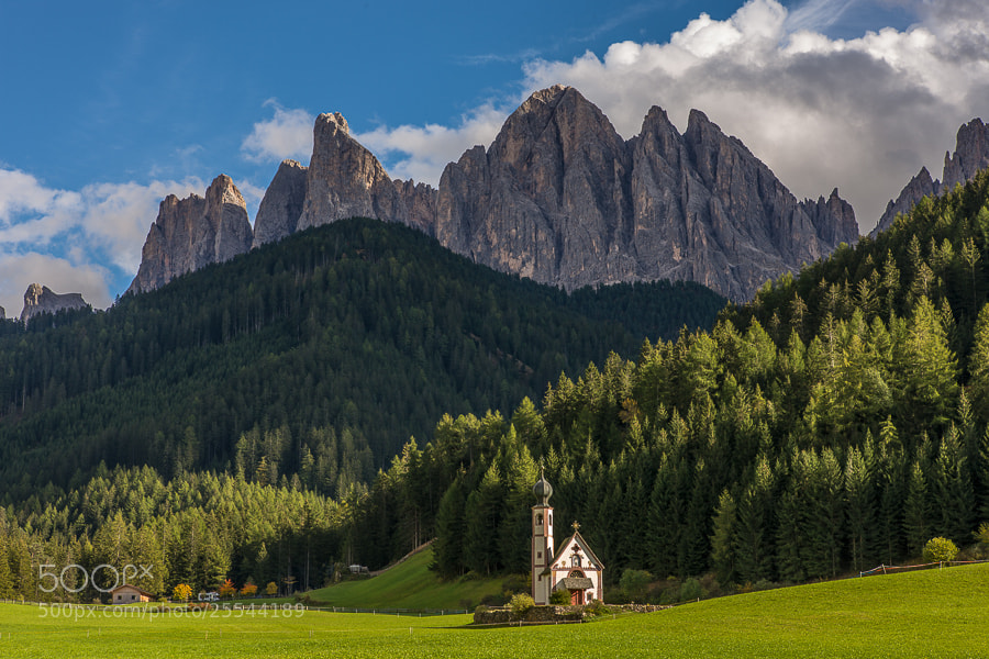 """<a href=""""http://www.hanskrusephotography.com/Workshops/Dolomites-October-7-11-2013/24503434_Pqw9qb#!i=2226589698&k=Brpkcz4&lb=1&s=A"""">See a larger version here</a>  This photo was taken during a photo tour that I was leading in the Dolomites October 2012."""
