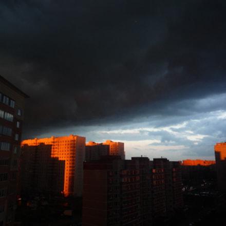 Stormy clouds, Panasonic DMC-FX500