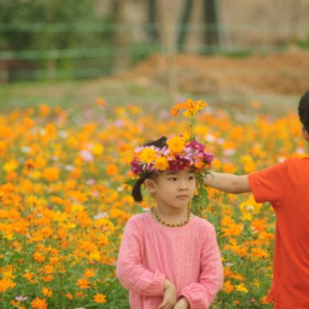 children, Nikon D90, AF Zoom-Nikkor 70-300mm f/4-5.6D ED