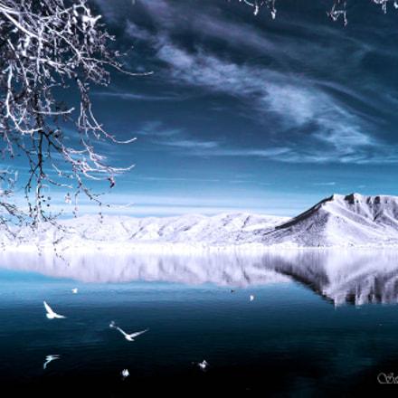 infrared lake, Panasonic DMC-FH27